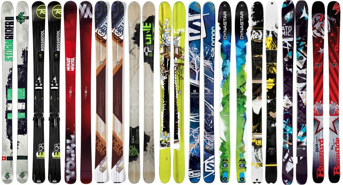 Найти среди всего многообразия «свои лыжи» или хотя бы сократить число  вариантов помогут основные характеристики горных лыж, которые каждый  производитель ... 12a46817412
